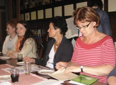 Vasemmalta: Sirpa Hertell, Taru Saraste, Tuuli Marela, Hannele Helander. Kuva: Teresia Volotinen